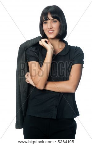 Businesswoman With Jacket