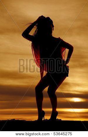 Woman Lean Silhouette