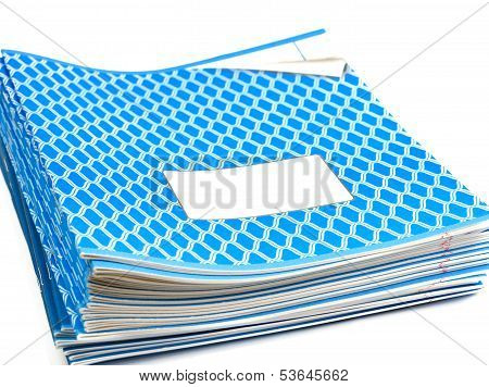 Blue Notebooks