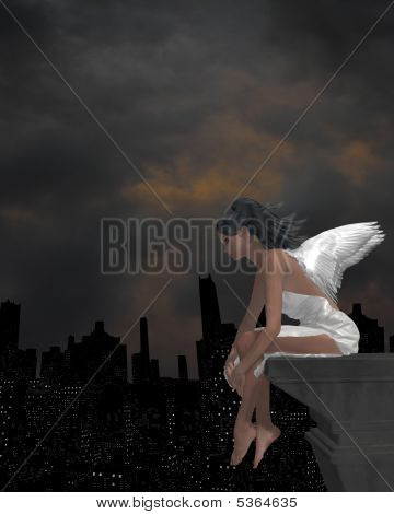 Angel On A Ledge