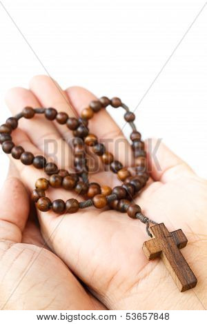 Rosary On Palm