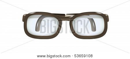 Glasses With Folded Temples