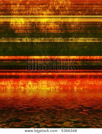 High Tech Grunge Metallic Background