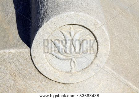 Stone Carving Pattern In The Eastern Royal Tombs Of The Qing Dynasty, China