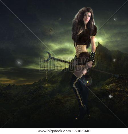 Sorceress Standing