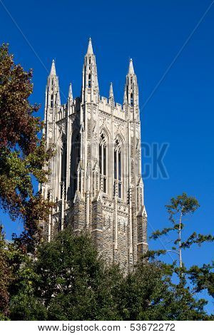 Duke Chapel Bell Tower