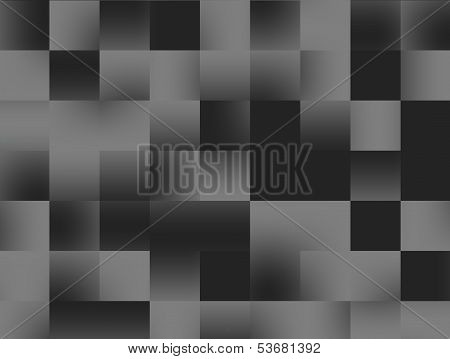 Abstract Black Squares Background