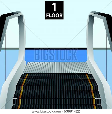 Escalator Stairs