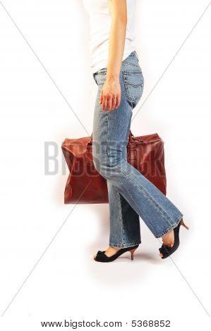 High Heels And Handbag