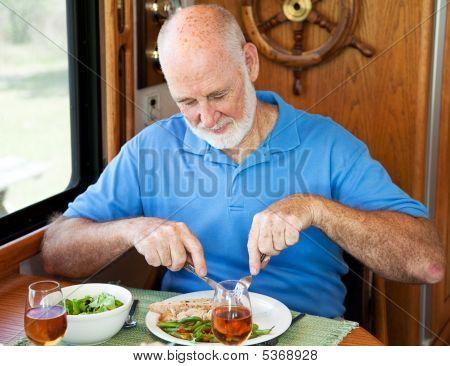 Rv Senior Man - Healthy Eating