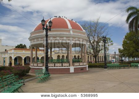 Beautiful Dome In A Cienfuegos Park