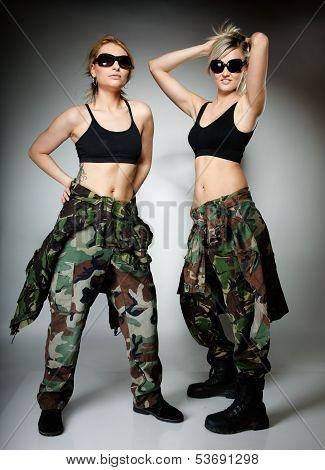 Стиль Милитари Для Женщин