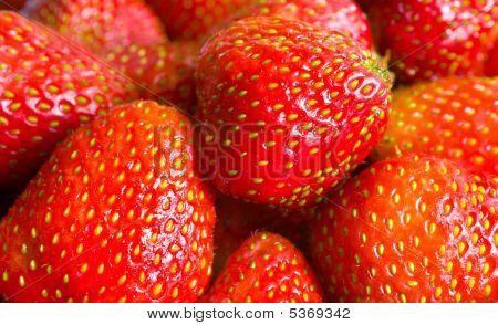 Close-up Of Strawberry
