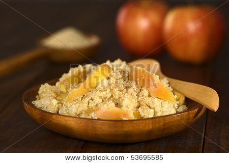 Quinoa Porridge with Apple
