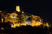 Saint Paul De Vence By Night, French Riviera