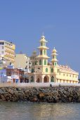 stock photo of swami  - Southernmost point of India - JPG