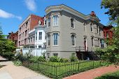 picture of tenement  - Washington DC capital city of the United States - JPG