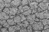 stock photo of shale  - black background with shale and sandstone on sidewalk abstract wallpaper - JPG