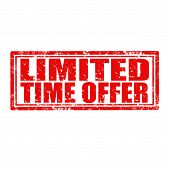 Limited Time Offer-stamp