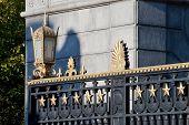 picture of arlington cemetery  - Entrance Gate  - JPG