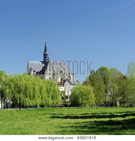 Saint Jean Baptiste Collegiate Church, Montresor, France