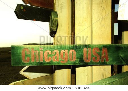 signo de Chicago usa