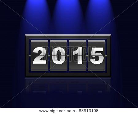 Counter Calendar 2015.