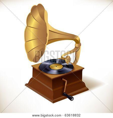 Gramophone print template