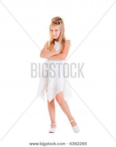 Beautiful Small Girl Posing