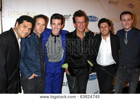LOS ANGELES - APR 17:  Drake Bell Band at the  Drake Bell's Album Release Party for