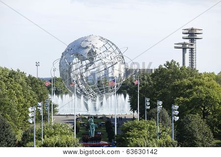 1964 New York World s Fair Unisphere in Flushing Meadows Park