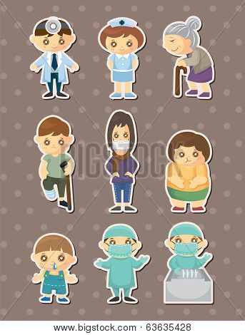 Doctor Element Stickers