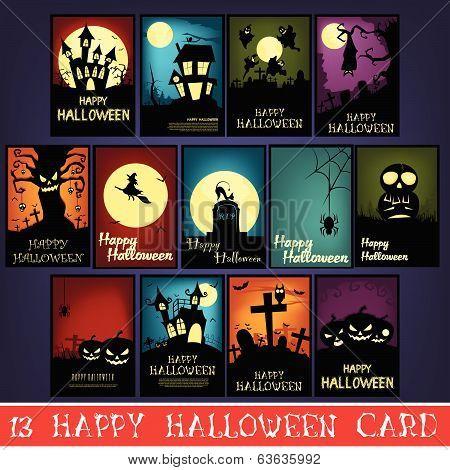 13 Happy Halloween Cards
