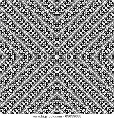 Design Seamless Trellis Geometric Diagonal Pattern