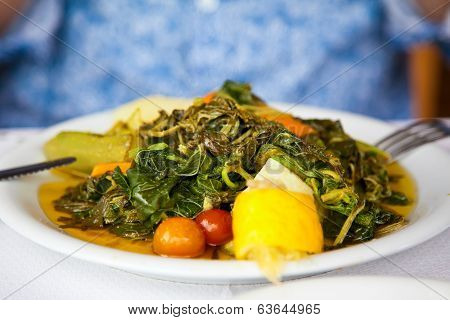 Healthy Vegetarian Cretan Salad