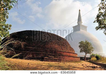 Mahaseya Dagoba, Mihintale, Sri Lanka