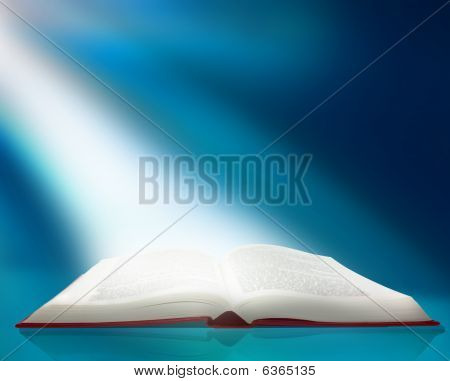 Ray Of Light On Book