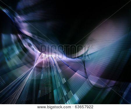 Dark abstract background design