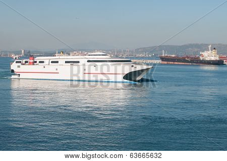 Strait of Gibraltar, harbor