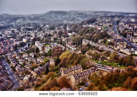 Tilt and shift photograph