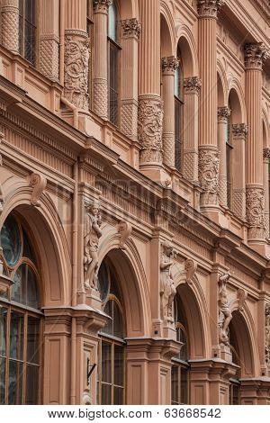 Art Nouveau Style In Architecture Of Early Xx Century In Riga, Latvia