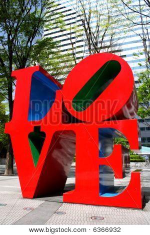 Love Sculpture In Shinjuku