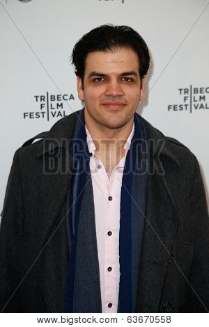 NEW YORK-APR 18: Actor AJ Meijer attends the