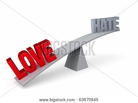 Love Versus Hate (love Wins)