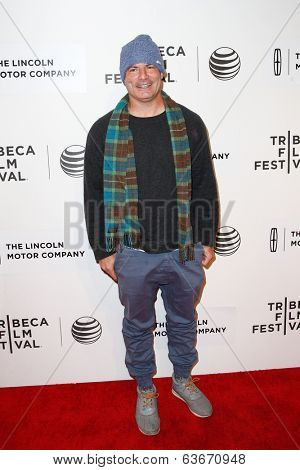 NEW YORK-APR 20: Director Dito Montiel attends the