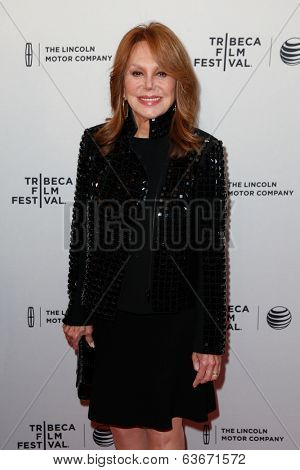 NEW YORK-APR 18: Actress Marlo Thomas attends the