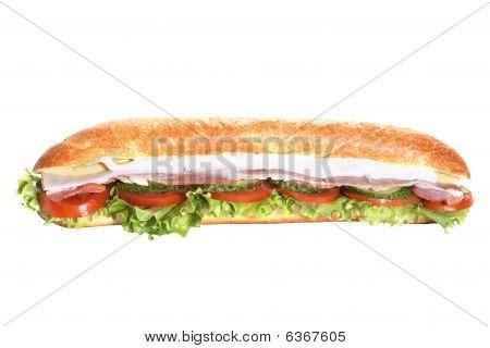 Ham Submarin Sandwich