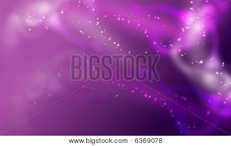purple particle background