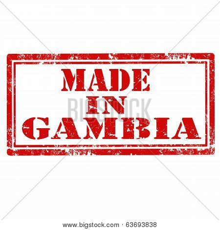 Made In Gambia-stamp