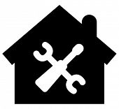 Home repair vector icon